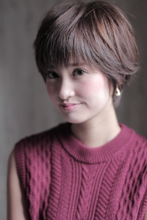 ハネ感 ストレートショート|MODE K's 塚本店 モードケイズ塚本店のヘアスタイル