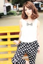 大人かわいい♪ほつれふわバルーンミディ☆重めスタイル!|felicita 緑地公園店のヘアスタイル