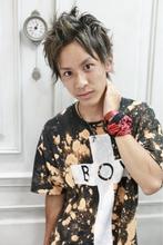 ★sCene★シルバーアッシュ&アップバング|sCeneのメンズヘアスタイル