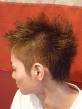 プロのヘアカラー!!