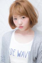 大人かわいい無造作ワンカール@ハイトーンエアリーショート|felicita 福島店のヘアスタイル
