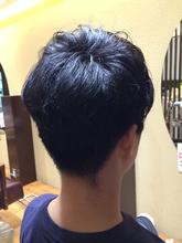スッキリ!2ブロック!好感度アップの束感ショート|felicita 福島店のメンズヘアスタイル