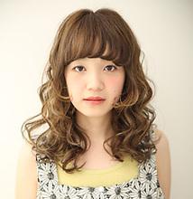 ランダムミックスWAVE|MASHU アドベ店のヘアスタイル