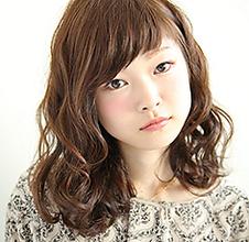 ソフトウェーブミディ|MASHU アドベ店のヘアスタイル