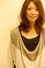 キャラメルマカロン|aile ciel 富田林店のヘアスタイル