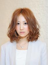 華やぎカールボブ|ヘアサロン VIVIT 藤井寺店のヘアスタイル