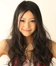 センターパートで決める、ロングウェーブ☆ marble hair 西野店のヘアスタイル