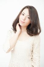 大人可愛い☆セレブ風ミディアムボブ|keep hair designのヘアスタイル