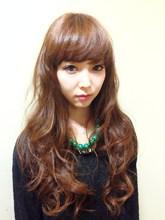 フェミニン系スウィートロング|hair garden ans. 上北沢店のヘアスタイル