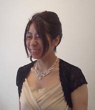 結婚式UP|hair garden ans. 千歳烏山店のヘアスタイル