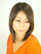 しっとりとした髪がキレイに見えるスタイル|A.Qusis Kのヘアスタイル