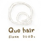 Que hair  | キューヘアー  のロゴ