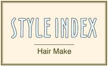 STYLE INDEX 池袋店  | スタイル インデックス イケブクロテン  のロゴ