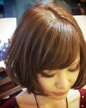 シフォンボブ|KAMI-YU 千川店のヘアスタイル