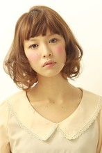 ふんわりエアリーボブ2|la luna alex 神戸北町店のヘアスタイル