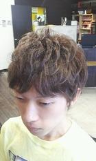 ◆2ブロックエアリーマーメイドラベンダーアッシュ◆|AXEL 小金原本店のメンズヘアスタイル