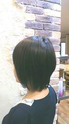 ◆前下がりショートボブ◆|AXEL international 東松戸店のヘアスタイル