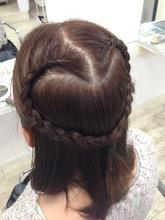 女子力UP☆三つ編みスタイル|Hair Resort ACCESSのヘアスタイル