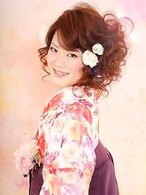 キュート袴スタイル|FEERIE tsukudaのヘアスタイル