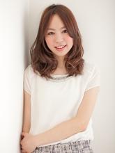 ゆるふわミディー|CREER [クレール塚口店]のヘアスタイル