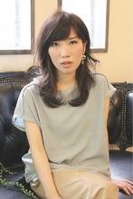 ダークな暗髪にチェンジするのが、大人品髪の第一歩!|hair BIJOUXのヘアスタイル
