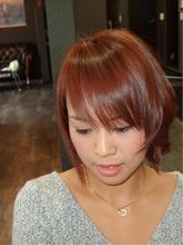 アシンメトリーボブ|HAIR DRESSING Growthのヘアスタイル