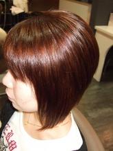 Aライングラデーションボブ|HAIR DRESSING Growthのヘアスタイル