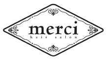 merci hair salon  | メルシィ ヘアサロン  のロゴ