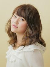 ガーリーキュート|unpeu hair 西京極店のヘアスタイル