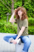 セミロングはパーマで動きを楽しんで|kisa  fataのヘアスタイル