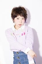 【HAYATO】ショートでも小顔に☆ワンポイントアシンメトリー|Hayato Tokyoのヘアスタイル