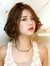 ふんわりエアリー女神ボブ|Chakura arka Hair Salonのヘアスタイル