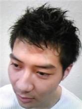 エアリーなメンズショート|FRAME hairのメンズヘアスタイル