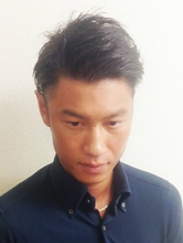 ツーブロック七三|Studio M's 鎌取店のメンズヘアスタイル
