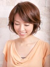 ナチュラルショートボブ|Studio M's 稲毛店のヘアスタイル