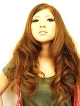 モテ小顔!、動きのあるロングスタイル↑|AEG 南平店のヘアスタイル