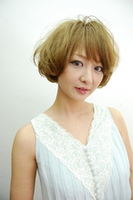 ナチュ☆かわボブ La Breaのヘアスタイル