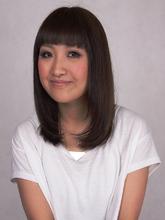 シンプルが一番。ロングストレート|美容室パルファンのヘアスタイル