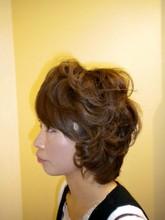 柔らかい印象のふんわりフェミニン COCOLO-HAIRのヘアスタイル