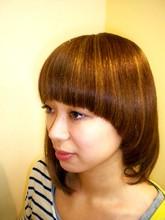 マロンマッシュ COCOLO-HAIRのヘアスタイル