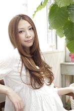 エアリーストレート Polaris hair&make 五反田のヘアスタイル