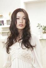 ecang ウェーブ Polaris hair&make 五反田のヘアスタイル