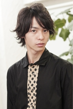 クラシカルミデイアム Polaris hair&make 五反田のメンズヘアスタイル