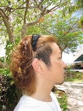 MIXカーリースタイル|OPENSESAMEのメンズヘアスタイル