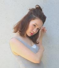 シースルーボブ|SALOON OSAKAのヘアスタイル