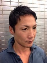 さりげなくトップふんわりベリーショート|Hair Salon GINZA MATSUNAGA 築地店のメンズヘアスタイル