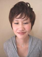 外人のようなショートレイヤー|Hair Design annieのヘアスタイル