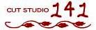 CUT STUDIO 141  | カットスタジオ イチヨンイチ  のロゴ