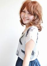 ほつれるニュアンスパーマミディアム|SERENDIPITY hair designのヘアスタイル