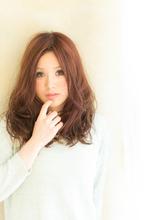ツヤサラサラモードで大人かわいい前髪のラブクラシカルヘア128|Hair art chiffon 池袋東口店のヘアスタイル